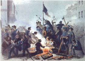 1848 Martsrevolutionen - borgerlig kamp for demokrati