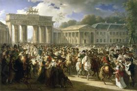 1806:  Charles Meynier: Napoleons indtog i Berlin