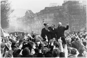 1969: US Præsident Nixon på besøg i Berlin