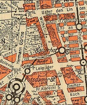 Wilhelmstrasse - Magtens centrum
