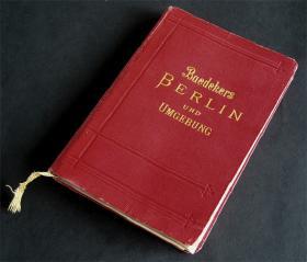 1904 Berlin set fra Baedekers Rejsefører
