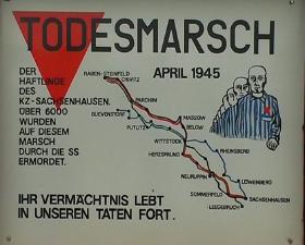 Dødsmarchen fra KZ lejrerne (60 km NV)