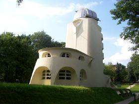 Albert Einstein og hans forunderlige tårn i Potsdam