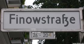 Udsigten fra Finowstrasse
