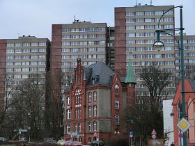 Frankfurt an der Oder - næsten i Polen