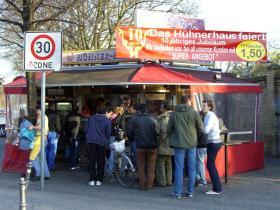 Vil du rende og hønse - de bedste grillkyllinger i Berlin