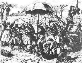 1830 - 1847 - Skrædderrevolution, fyrværkerirevolution og kartoffelrevolutionen