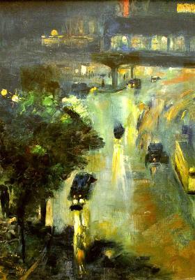 1925: Lesser Ury - impressionistisk mestermaler i Berlin