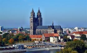 Magdeburg - hovedstad i Sachsen-Anhalt