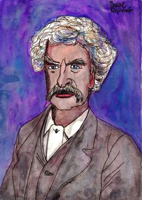 1891 Mark Twain på besøg hos Kejser Wilhelm II