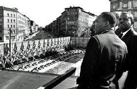 1964 Martin Luther King på besøg i Øst-Berlin