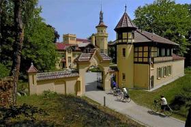 Schloss Hubertushöhe - fem-stjernet luksus