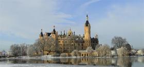 Schwerin - Storhertugens residens i Mecklenburg