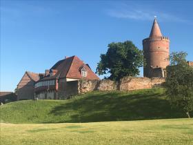 Burg Stargard - Sov på en middelalder borg
