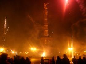Nytårsaften og braget ved Brandenburger Tor