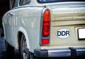 Trabimuseum i Berlin - Verdens ringeste bil på eget museum