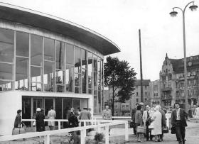 Tränenpalast - afrejse fra DDR
