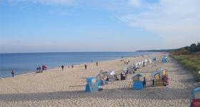 Usedom: Strand og V2 raketter