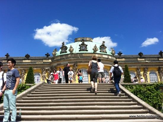 Schloss Sanssouci - det smukke sommer slot i Potsdam