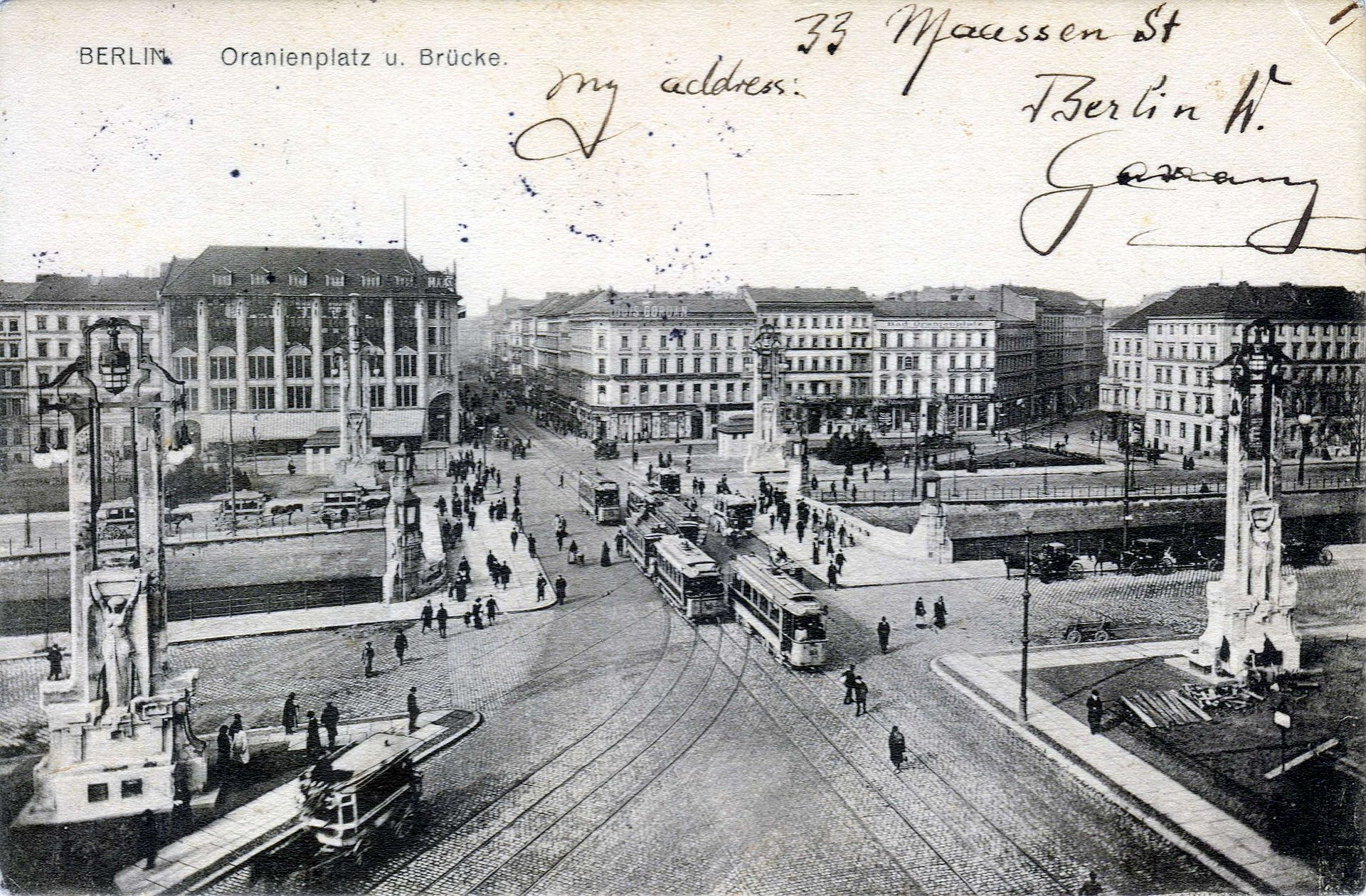 Berlin Oranienburger Platz 1900