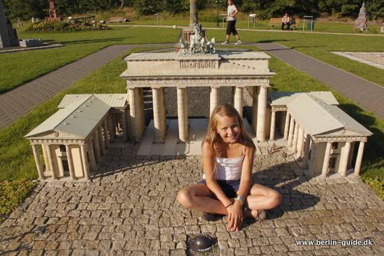 Modelpark Berlin-Brandenburg - Berlins store seværdigheder i skala 1:25